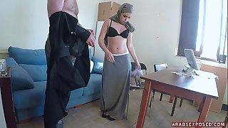 Paid Arab to Lick his Anus