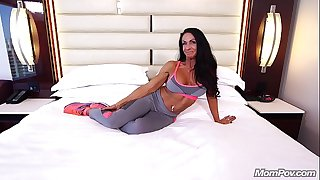 60yo Fit Body Builder MILF Anal Sex Will Pump You Up!