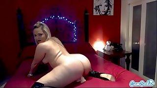 CamSoda - Alexis Texas Big Ass Masturbation in Bedroom