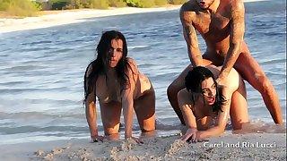 FUCKING WILDLY ON A DESERT ISLAND PART 2