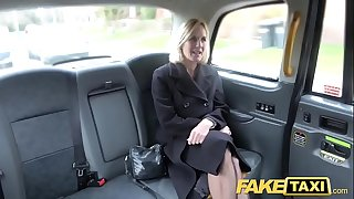 Fake Taxi Mature Milf gets her big beaver lips stretched open