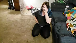 Teen Babysitter Caught Stroking And Blackmailed To Finish