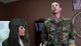 Big TITS in uniform - (Jenaveve Jolie, Jordan Ash) - General Juggz