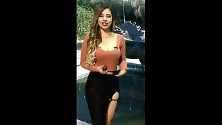 Cd Juarez Televisa Chica del Clima Mamando Verga