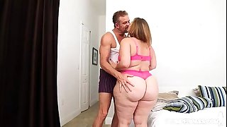 Huge Booty BBW Mazzaratie Monica Loves Her Stepfather Tony D