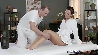 Massage Brown sphincters Horny Mummy wanks deep-throats and fucks hard cock like a pro
