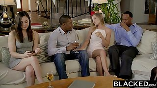BLACKED First Broads Three-way For Sydney Cole